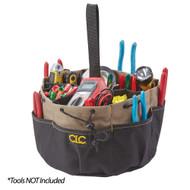 CLC 18 Pocket Draw String Bucket Bag