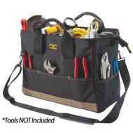 """CLC 16"""" Large BigMouth Tool Tote Bag"""
