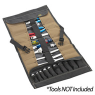 CLC 32 Pocket Socket Tool Roll Pouch