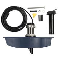 Navico Long Stem ForwardScan Transducer w\/Sleeve Plug & Fairing Block