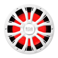 "Boss Audio MRG10W 10"" Marine 800W Subwoofer w\/Multicolor Lighting - White"
