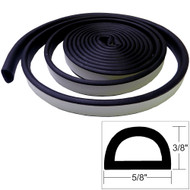 "TACO Weather Seal - 10'L x 3\/8""H x ""W - Black"