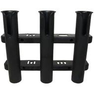 Sea-Dog Three Pole Rod Storage Rack - Black