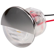 Sea-Dog Round LED Flush Mount Courtesy Light - White