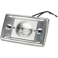 Sea-Dog Stainless Steel Rectangular Transom Light