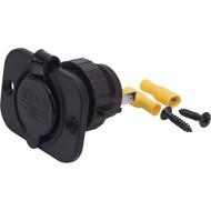 Sea-Dog Round Dual USB Power Socket