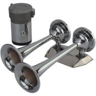 Sea-Dog MaxBlast Air Horn - Mini Dual Trumpet