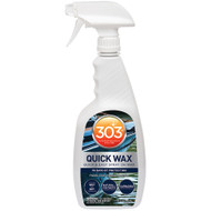 303 Marine Quick Wax with Trigger Sprayer - 32oz *Case of 6*