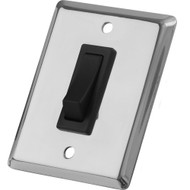 Sea-Dog Single Gang Wall Switch - Stainless Steel