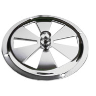 Sea-Dog Stainless Steel Butterfly Vent - Center Knob - 4""
