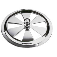 Sea-Dog Stainless Steel Butterfly Vent - Center Knob - 5""