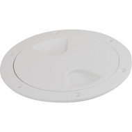"""Sea-Dog Screw-Out Deck Plate - White - 6"""""""