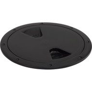 """Sea-Dog Screw-Out Deck Plate - Black - 6"""""""