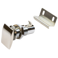 Sea-Dog Push Button Cabinet Latch - Rectangular