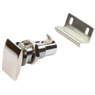 Sea-Dog Push Button Cabinet Latch - Rectangular