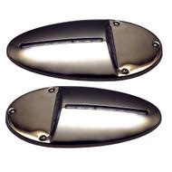Innovative Lighting LED Docking Light- Mirrored Stainless Steel - Pair