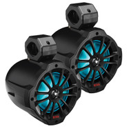 "Boss Audio 6.5"" Amplified Wake Tower Multi-Color Illuminated Speakers - Black"