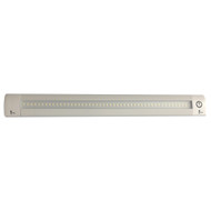 """Lunasea 12"""" Adjustable Linear LED Light w\/Built-In Touch Dimmer Switch - Cool White"""