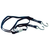 "Rod Saver Stainless Steel Ratchet Gunwale Tie-Down - 1"" x 10"