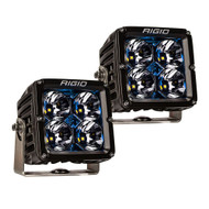 RIGID Industries Radiance Pod XL - Black Case w\/Blue Backlight - Pair