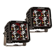 RIGID Industries Radiance Pod XL - Black Case w\/Red Backlight - Pair