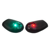 Sea-Dog Black Side Mount LED Navigation Lights - 1 NM - Port  Starboard