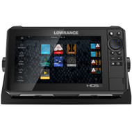 Lowrance HDS-9 LIVE w\/Active Imaging 3-in-1 Transom Mount  C-MAP Pro Chart