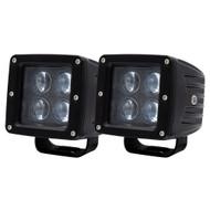 """Heise 3"""" 4 LED Cube Light - 2-Pack"""