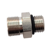 Octopus Orb Brass Straight Connector