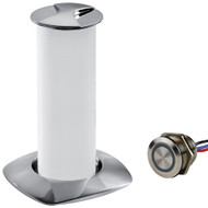 Sea-Dog Aurora Stainless Steel LED Pop-Up Table Light - 3W w\/Touch Dimmer Switch