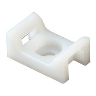Ancor Cable Tie Mount - Natural - #10 Screw - 100-Piece