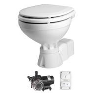 Johnson Pump AquaT Toilet Electric Compact - 12V w\/Pump