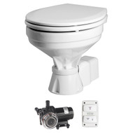 Johnson Pump AquaT Toilet Electric Comfort - 12V w\/Pump