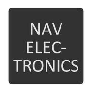 Blue Sea 6520-0325 Square Format Nav Electronics Label