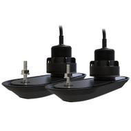 Raymarine RV-320 Plastic Thru-Hull Transducer Pack w\/20 Deadrise Compensation