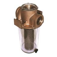 "GROCO ARG-1500 Series 1-1\/2"" Raw Water Strainer w\/Stainless Steel Basket"