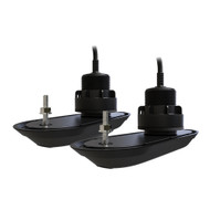 Raymarine RV-312 RealVision 3D Transducers - Pair - Nylon Thru-Hull 12 Deadrise