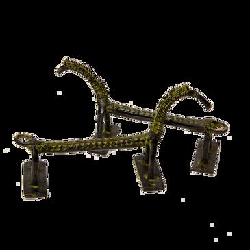 Horse Brass Door Handle