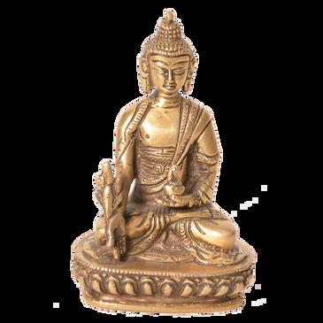 Brass Medicine Buddha