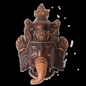 Resin Ganesh Mask