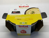 TEFAL FIRST COOK STEWPOT 24CM + LID BLACK