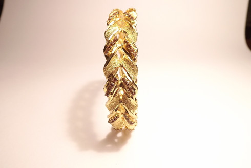 Golden Laurel with Diamantes