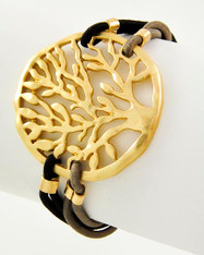 Golden Tree Bracelet