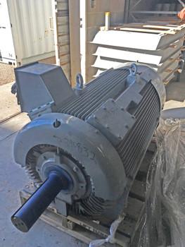 500HP TECO Westinghouse Motor 1786RPM 5011B TEFC Frame