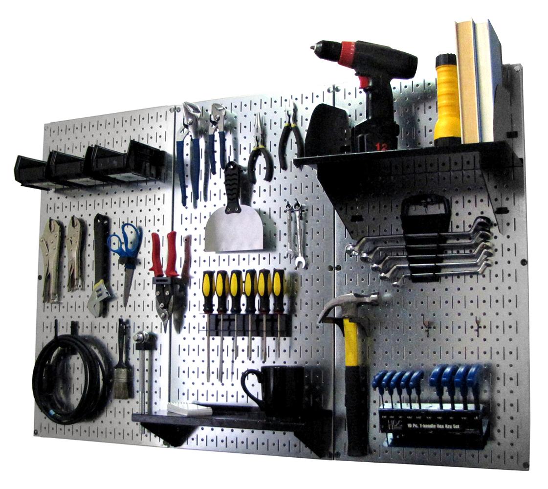 Tool Organizer Pegboard - Best Garage Storage Systems - Wall Control