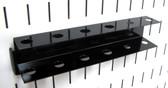 Scratch & Dent Slotted Metal Pegboard Screwdriver Holder