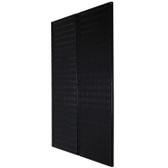 Scratch & Dent 48in Black Steel Metal Pegboard Pack - Two 16in x 48in Pegboard Tool Boards