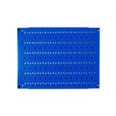 Scratch & Dent 12in Tall x 16in Wide Pegboard Panel - Blue Metal Pegboard