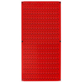 8 Pack of Pegboard - Scratch & Dent Wall Control 16in W x 32in T Red Metal Pegboard