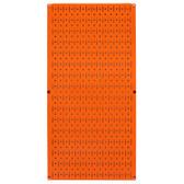 8 Pack of Pegboard - Scratch & Dent Wall Control 16in W x 32in T Orange Metal Pegboard